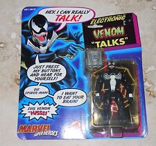 VENOM TALKS Electronic Super-Heroes Talking Venom Action Figure MOC 1991 ToyBiz