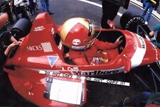9x6 photographie Alex Caffi Scuderia Italia Dallara F188, 1988 saison en Grand Prix