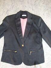 Veste blazer noir CACHE CACHE  – Taille 2 - 36/38