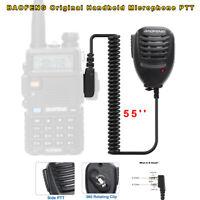 Handheld Microphone Speaker Mic PTT For Baofeng UV-5R UV-82 Walkie Talkie Radio