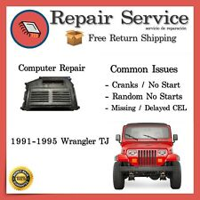 ✅1991 1992 1993 1994 1995 Wrangler YJ PCM ECM ECU BCM REPAIR | 91 92 93 94 95