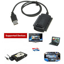 New Hard Drive HD HDD Converter Adapter Cord Cable USB 2.0 to SATA IDE 2.5 3.5