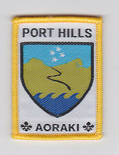 SCOUTS OF NEW ZEALAND - NZ AORAKI - PORT HILLS SCOUT DISTRICT BADGE