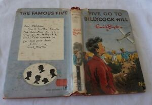 FIVE GO TO BILLYCOCK HILL ex library HARDCOVER WITH DUSTJACKET