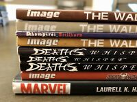VAMPIRES & ZOMBIES TPB HC LOT Dead World The Walking Dead Anita Blake hardcover