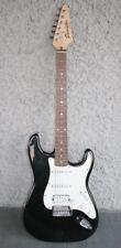 VTG FENDER Starcaster Electric Guitar. Black & White Classic Strat. Great Sound