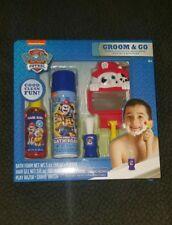Paw-Patrol-Groom-and-Go-K ids-Bath-Set-Gift-Shaving- Kit-5-Piece-Nickelodeon