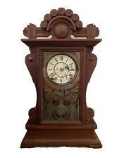 "New ListingAntique Seth Thomas ""Princeton"" City Series Walnut Kitchen Shelf Clock *Nice!*"
