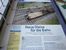 Meisterschule Modelleisenbahn 10 Gleisbai Peco Flexgleise 4S
