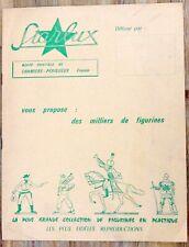 STARLUX CATALOGUE ANNÉE 1968