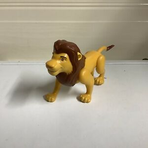 "Disney The Lion King Simba Figure Just Play 7"" Long"