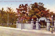 Entrance To Dundurn Park, Hamilton, Ontario Canada 1932