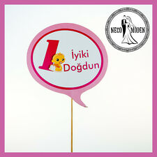 Its a Girl Babyshower Bebebk Party Kiz Bebek Iyki Dogdun ilk dogum günü 1 yas