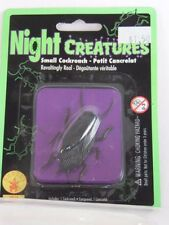 Brown 2 Inch Plastic Cockroach Night Creatures Halloween Party Trick Or Treat