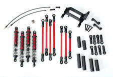 New Traxxas 8140R TRX-4 Complete Long Arm Lift Kit Travel Suspension Red