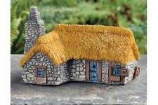 Miniature Fairy Garden Micro Mini Thatched Roof Country House GO 17355