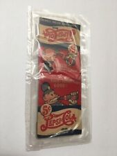 Vintage 5 Cents Pepsi Cola Matchbook + Matches 50's A Nickel Drink Worth A Dime
