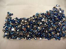 full package,1440 preciosa flatbacks,16ss montana sapphire AB/foiled #1