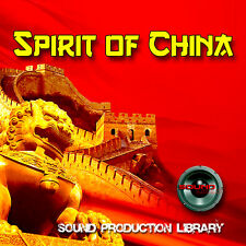 CHINA SPIRIT - Large original Multi-Layer Studio WAV Samples Library on 2 DVD