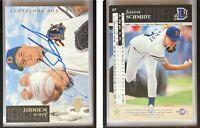 Jason Schmidt Signed 1994 Upper Deck Minors #67 Card Braves Auto Autograph