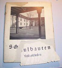 Schulbauten Volksschulen 1940 Architektur !