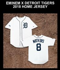 NEW Eminem x Detroit Tigers 2018 Home Jersey Size Large Sold Out