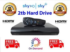 SKY+ HD **2TB VERSION** DRX895 - REMOTE CONTROL & LEADS  **WARRANTY**