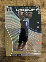 ZION WILLIAMSON *2019-20 Clearly Donruss All Clear For Takeoff /10 RC Rookie SSP