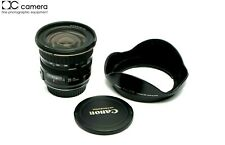 Clean Condition Canon EF 20-35mm f3.5-4.5 Autofocus Lens with Hood  #30244