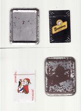 BUNDABERG RUM BRANDED UNOPENED  PLAYING CARDS IN TIN vintage C