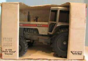 ERTL~REPLICA ~Scale Models  Diecast White Farm Equipment 2-135 Field BoSSTRACTOR