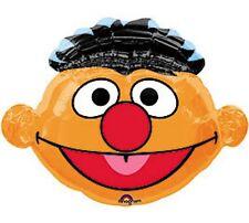 27.5 Inch Sesame Street 'Ernie' Head Shaped Foil Balloon (CS27)