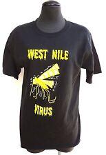 Vintage 2004 Mens Small West Nile Virus Rock Project Concert Tour T-Shirt- Nos