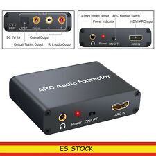 192 KHz HDMI ARC Extractor de audio  digital PCM / LPCM 2.CH a audio estéreo