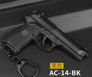 Gun Keyring Mini Toy key chains, Beretta  keyrings