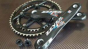 ZZYZX Carbon Crankset 53+39t (170mm) Road Bike Chainset ISIS SPLINED 9/10s (NEW)
