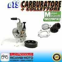 CARBURATORE POLINI EVOLUTION CP ø19 + COLLETTORE YAMAHA JOG 50 LC RR - JOG 50 R