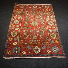 Antiker Orient Teppich Heriz 145 x 102 cm Heris Alt Perserteppich Old Carpet Rug