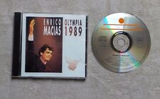 "CD AUDIO MUSIQUE / ENRICO MACIAS ""OLYMPIA 1989"" 19T CD ALBUM 1990"