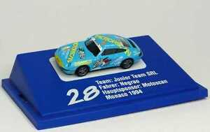 1:87 Porsche 911 Carrera 993 PC 1994 Junior Équipe Scan Moteurs 28 Negrao,