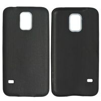 Full Cover Ultra Soft Silicone Gel TPU Luxury Case For Samsung Galaxy S5 Black