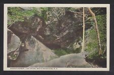 Usa 1900' 2x White Mountains New Hampshire Postcards Queen'S Bower & Gibbs Falls