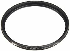 Nikon Neutral Color Filter NC 62mm NC-62 Clear Protector Filter New Japan