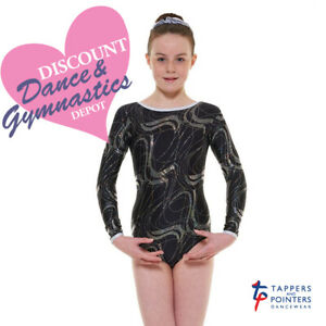 CLOSING DOWN SALE - Tappers and Pointers Long Sleeve Gymnastics Leotard