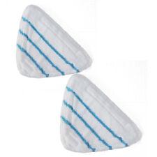 2pcs Set 30cm*20cm Bianco Fibra Mocio Panno Per Cleanmaxx Pulitore A Vapore parti di ricambio