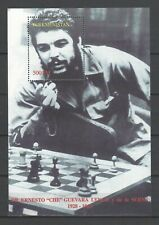 Turkmenistan   Ernesto 'Che' Guevara de la Serna Plays Chess  MNH Souvenir Sheet