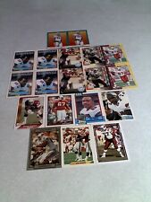 *****Luis Sharpe*****  Lot of 125+ cards.....31 DIFFERENT  / Football