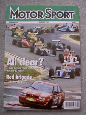 Motor Sport (Feb 1994) Volvo 850 T5, Rover 220 Turbo, Gabriele Tarquini, Du Pont