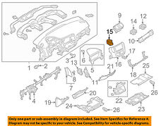 8030A204 Mitsubishi Air outlet, instrument panel, lh 8030A204, New Genuine OEM P
