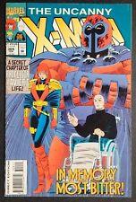 Uncanny X-Men #309 Marvel Comics Professor X,Magneto